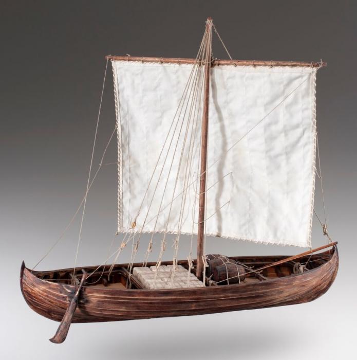 Viking Knarr 1/35 ship wooden models