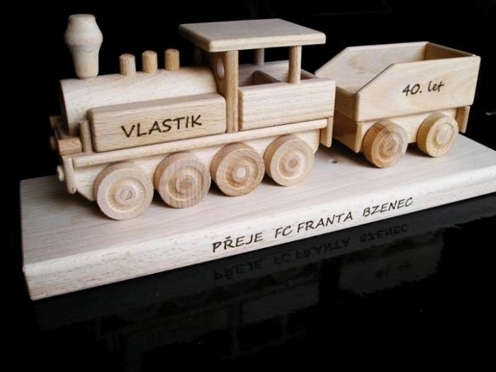 Steam locomotive gift, presents