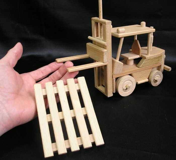Gift forklift, gifts for man drivers