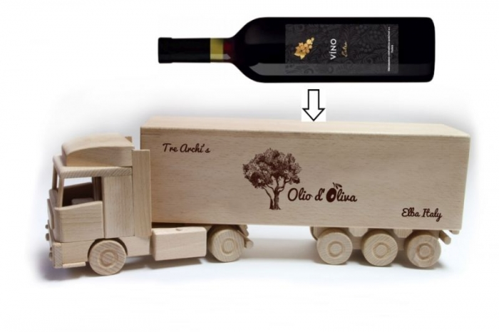 Big drivers gift truck lorry for alcohol