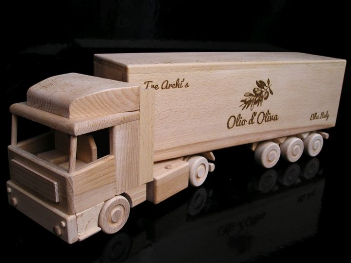 drivers gift truck lorry for alcohol wine