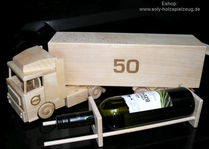 Big drivers gift lorry for alcohol wine