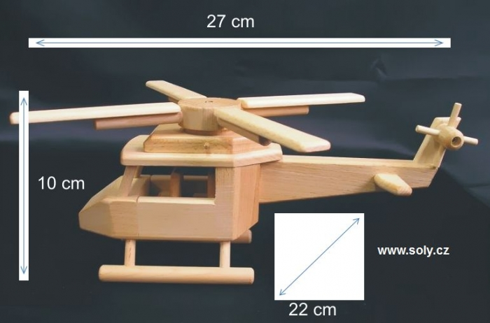 medical-wooden-helicopter-modell