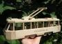 Modern tramway  toy