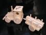 Traktor wooden toys for boys