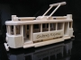 Historical tramway toy with nice engraving